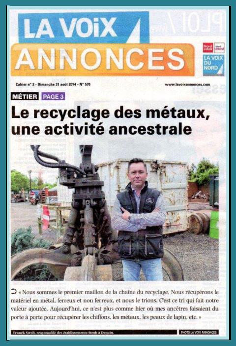Article LA Voix Annonce page 1